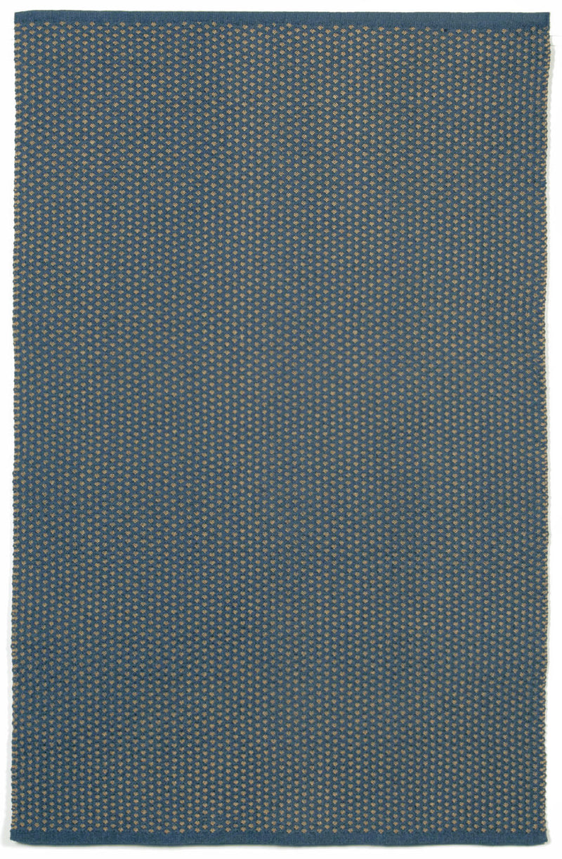 "Pebbles Denim 8'3"" x 11'6"" Indoor/Outdoor Flatweave Rug"
