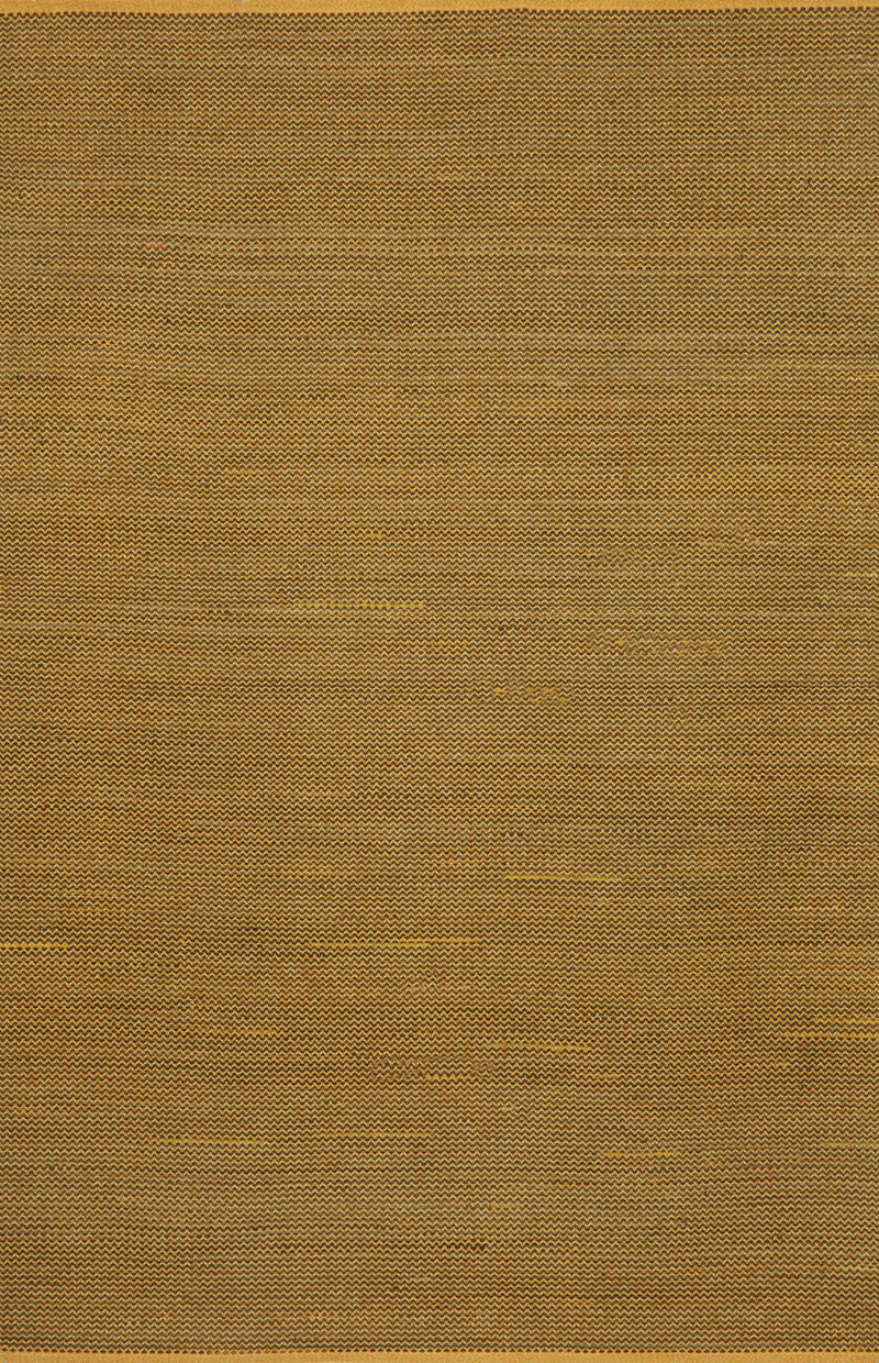 "Texture Yellow 5' x 7'6"" Indoor/Outdoor Flatweave Rug"