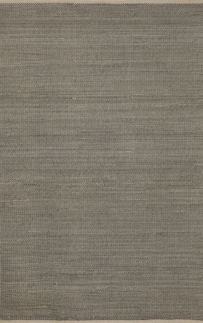 "Texture Neutral 7'6"" x 9'6"" Indoor/Outdoor Flatweave Rug"