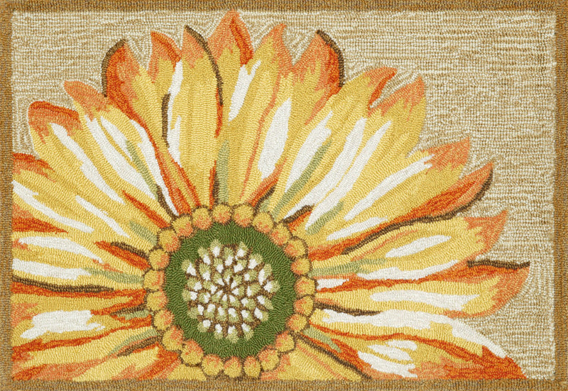 "Sunflower Yellow 30"" x 48"" Indoor/Outdoor Rug"