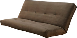 Verti Coil Hinged Mattress Suede Olive