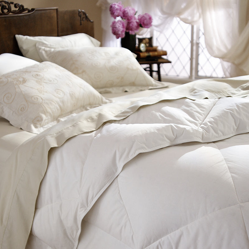 Restful Nights All-Natural Down Twin-Size Comforters