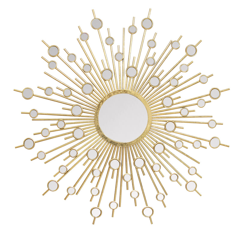Cuzco Gold Burst Wall Mirror
