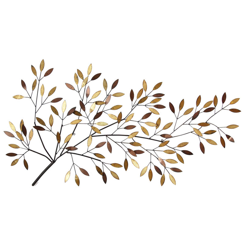 Eliana Tree Branch Blooms Metal Wall Decor
