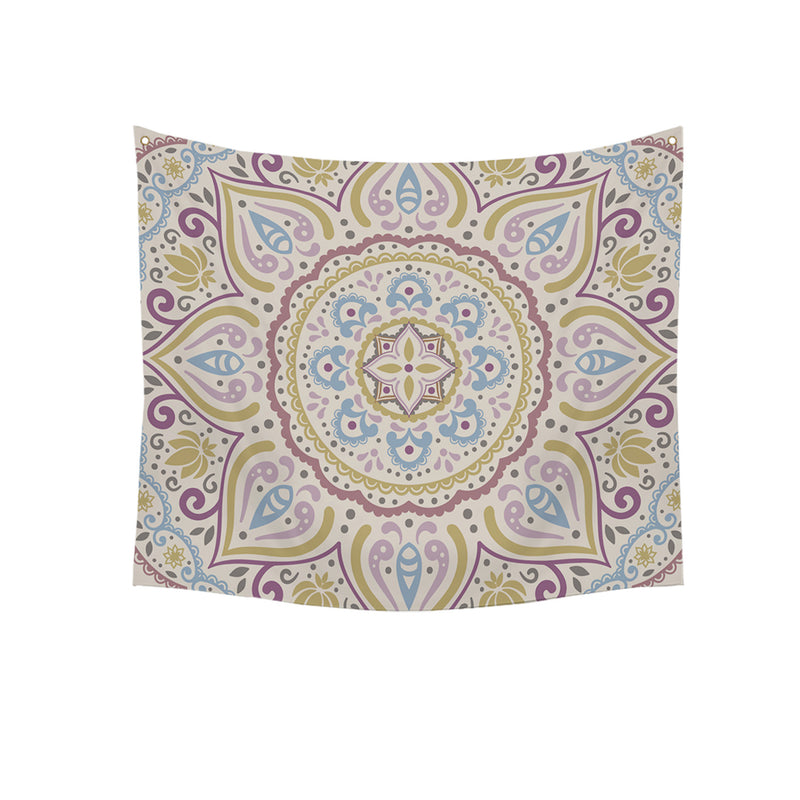 Isidro Multicolored Kaleidoscope 58-inch Wall Tapestry