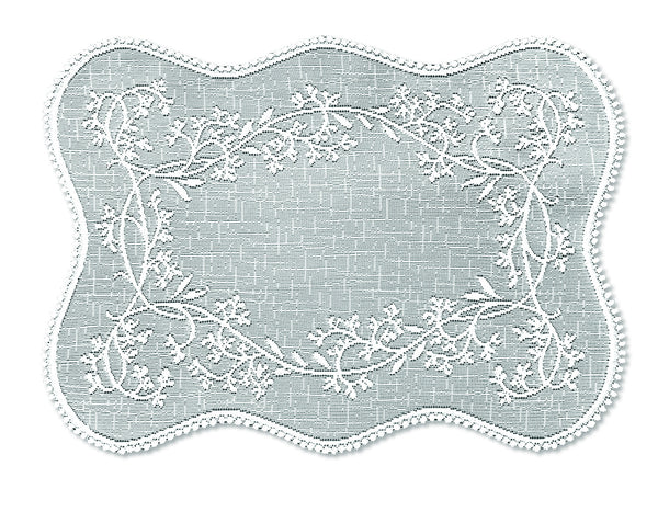 Sheer Divine 14X20 Placemat, White