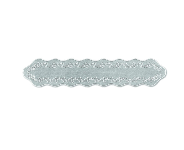 Sheer Divine 14X72 Runner, White