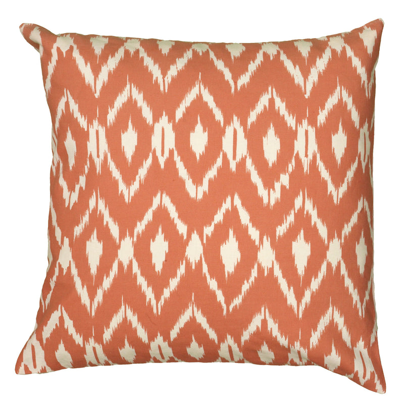 "Printed Orange Pillow Cover (18"" x 18"")"