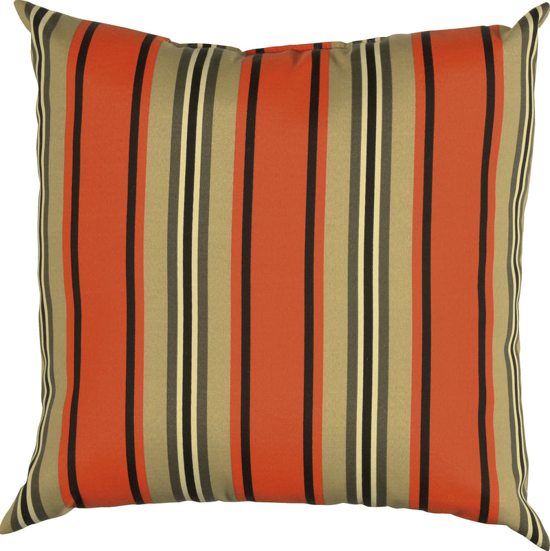 "Prefilled with Sharp Cut Edges Red Pepper Pillow (22"" x 22"")"