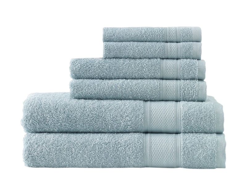 6-Piece Traditional Soft Turkish Bath Towel Set