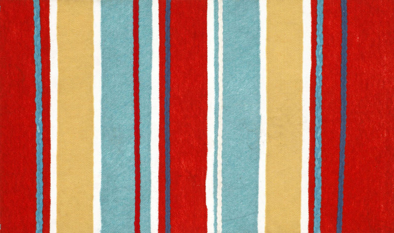 "Sailor Stripe Multi 20"" x 29.5"" Indoor/Outdoor Rug"