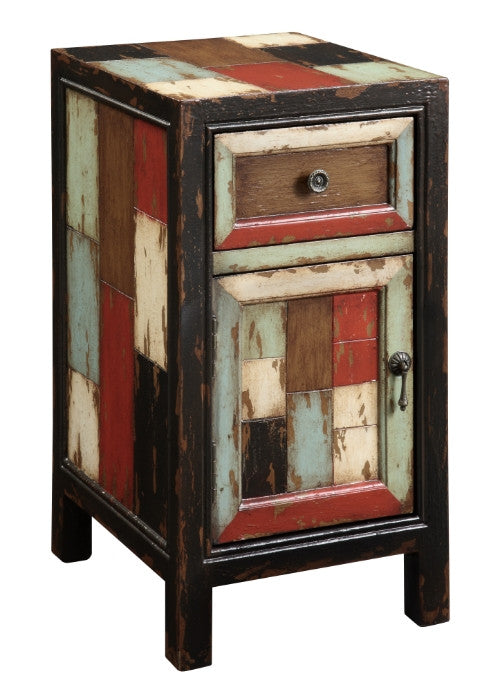 Colorful Antique Small Cabinet - Kitchen & Dining Room