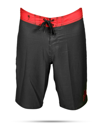 Black/Red Cloud - Board Shorts