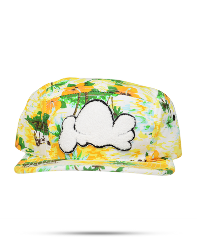 C9 Floral Yellow Hat