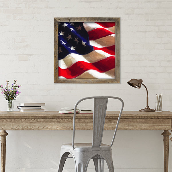 ID-026 Patriotic Flag