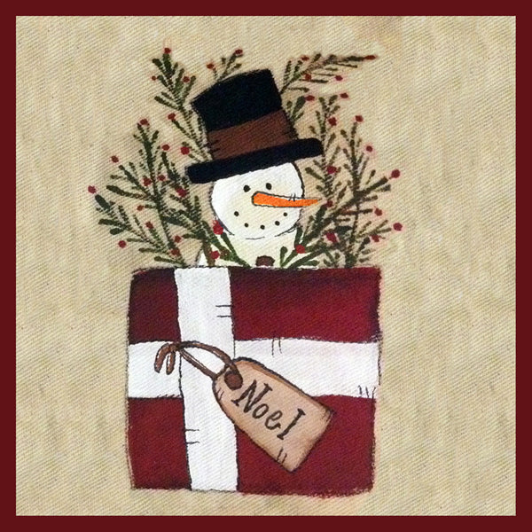 Snowman in Package