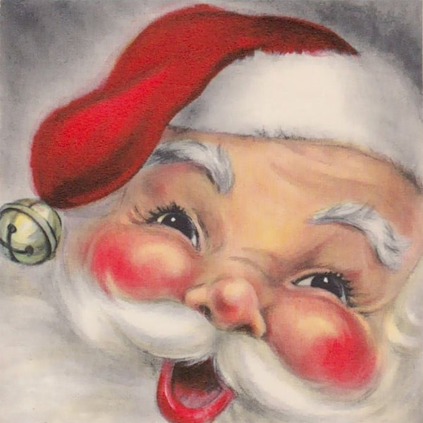 Santa with Rosy Cheeks