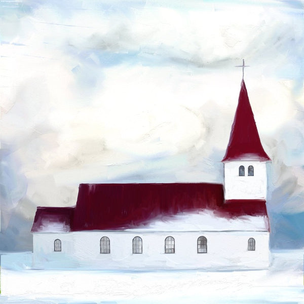 HG-839 Snowy Church Chapel
