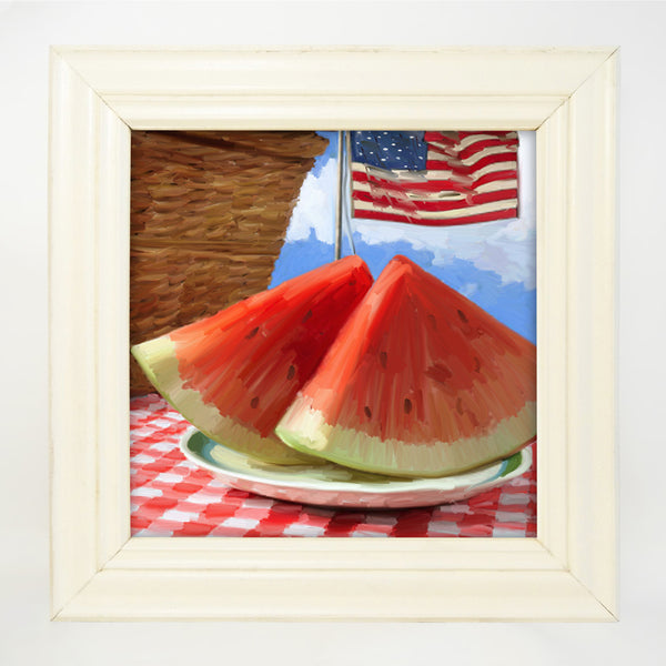 Patriotic Watermelon