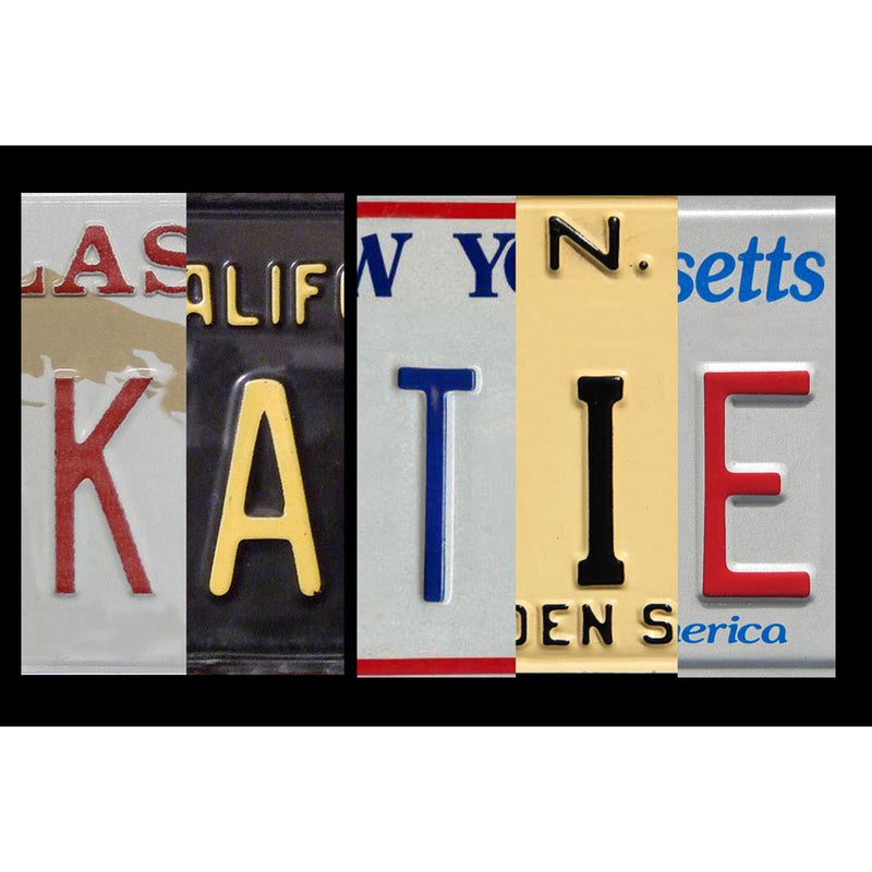WB-005 License Plate Sign Board