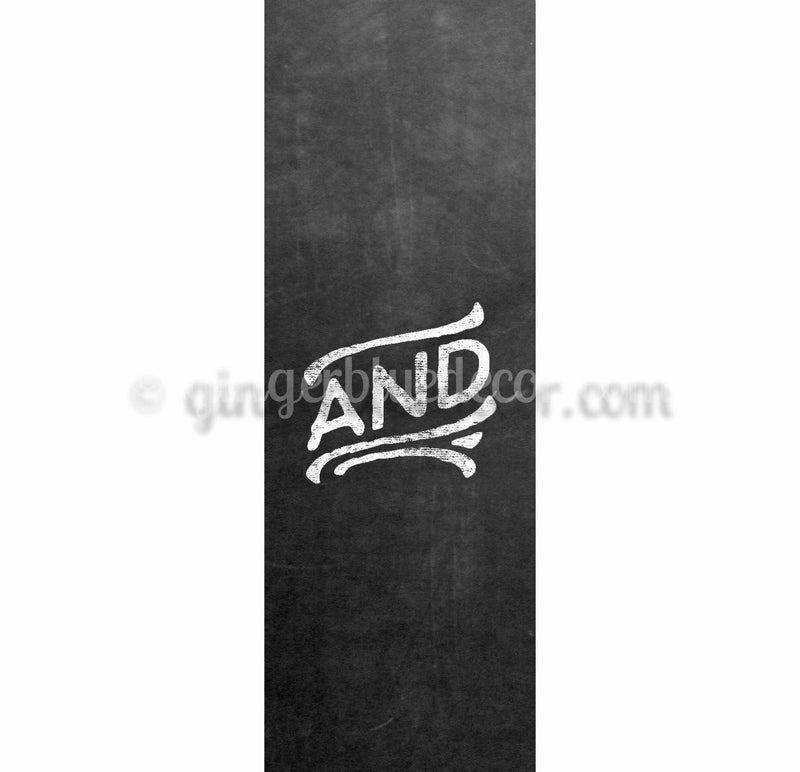 CKA-001 Chalkboard keyword and