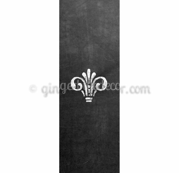 CKC-001 Chalkboard Keyword Crown