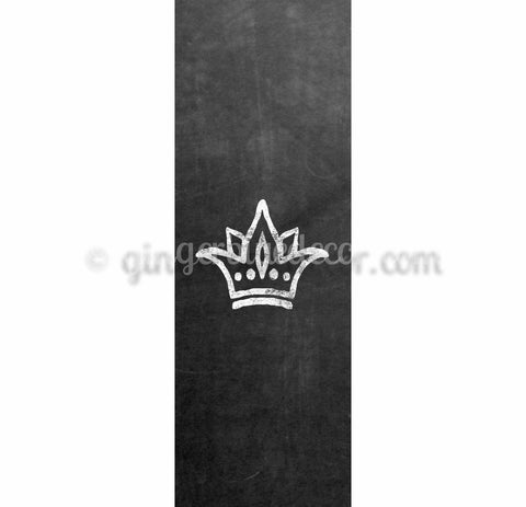 CKD-001 Chalkboard keyword Decorative Crown