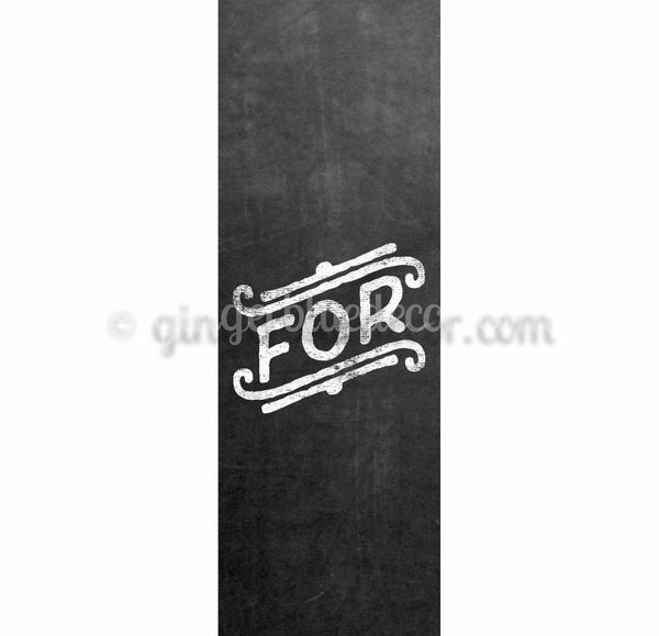 CKO-001 Chalkboard keyword For