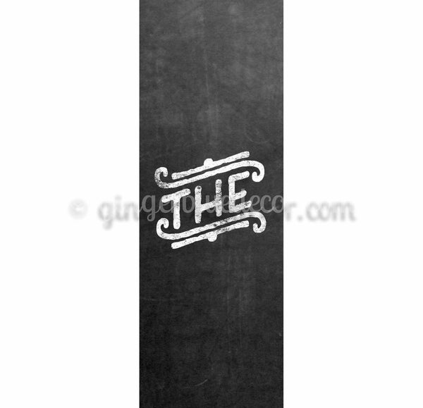 CKG-001 Chalkboard keyword the