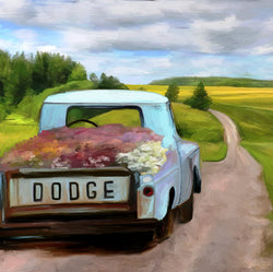 FL-201 Dodge Flower truck