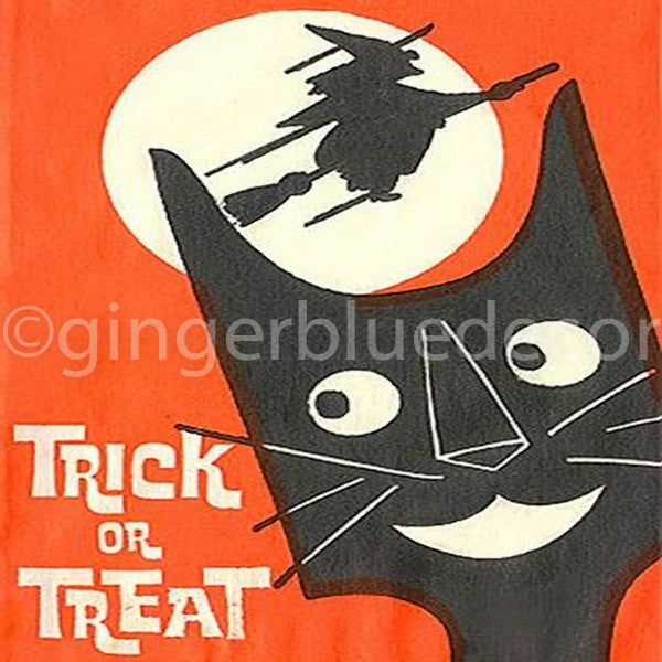 HW-033 Trick or treat cat