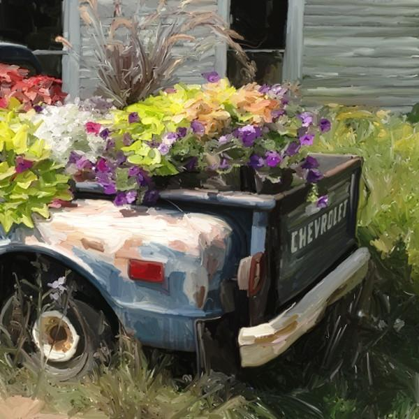 Chevrolet Flower Bed