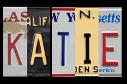 Personalized License Plate Sign with magnetic flexible magnet