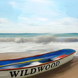 BE-079 Wildwood Boat on Jersey Shore