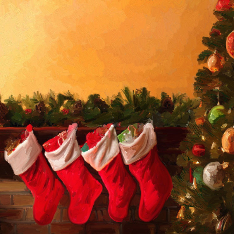 CH-074 Christmas Stockings for Santa