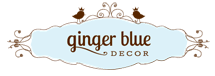 Ginger Blue Decor