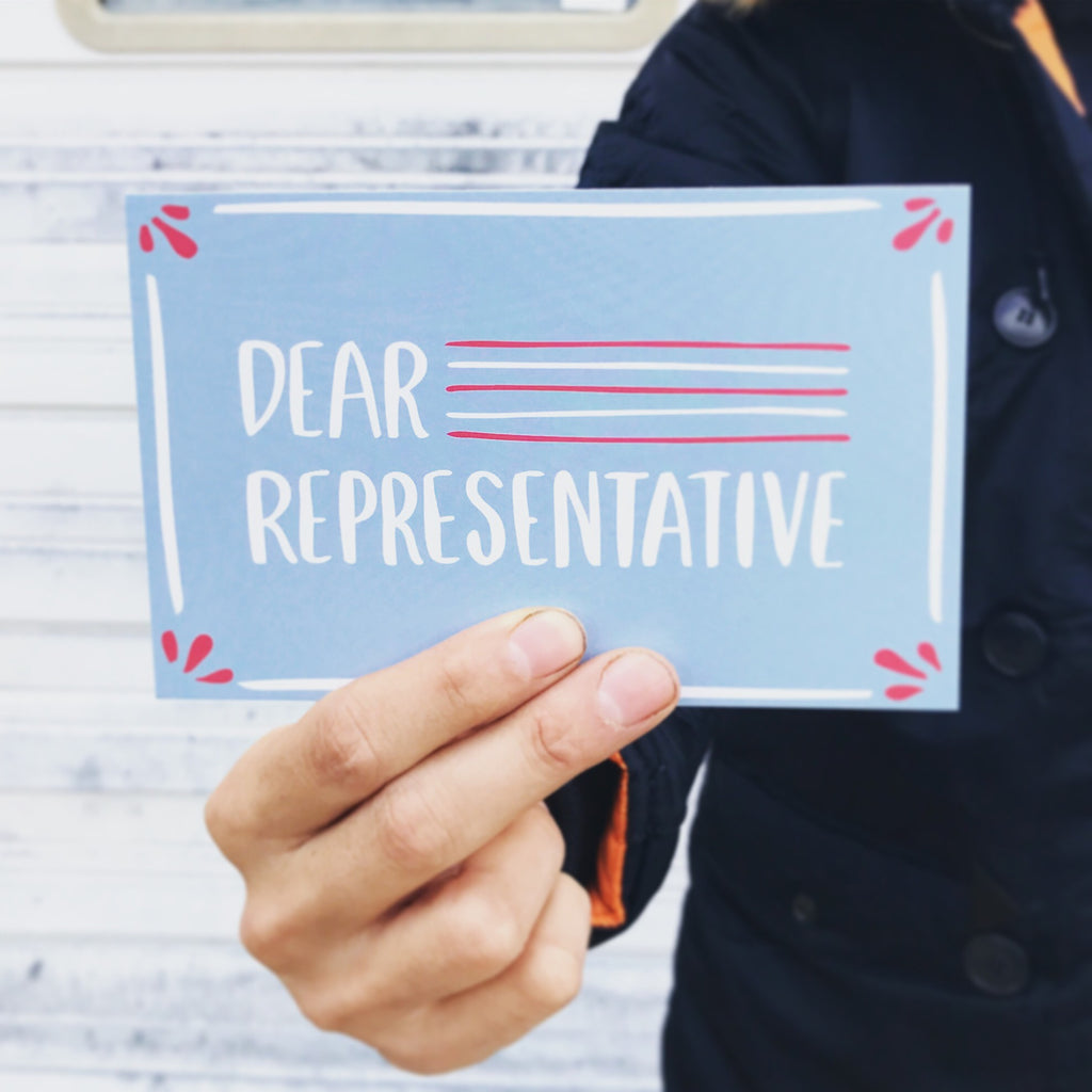 Dear Representative Postcards - From Row House 14