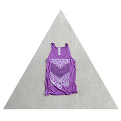 "Women's ""Nomad"" tank top, by Blackbird Tees"