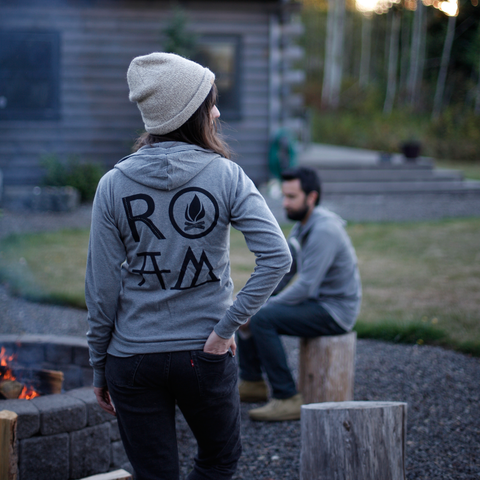 The ROAM Lightweight Zip Hoodie