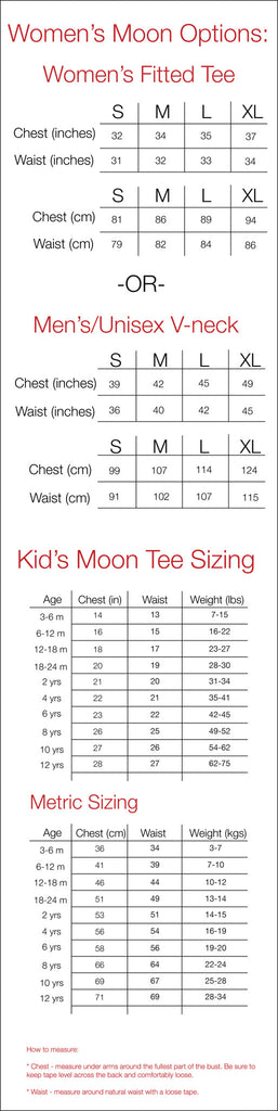 Mother & Child Moon Set Size Guide