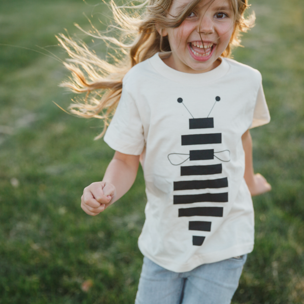 Kid's Honey Bee Graphic Tee