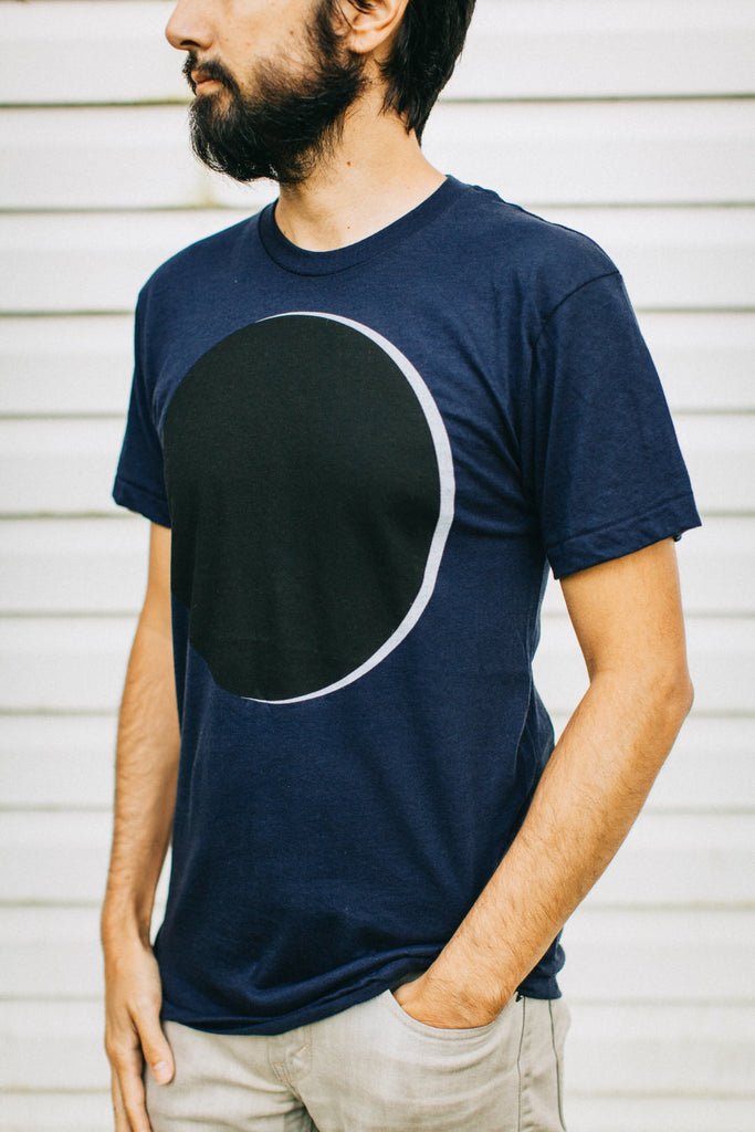 Men's Eclipse Graphic Tee Navy