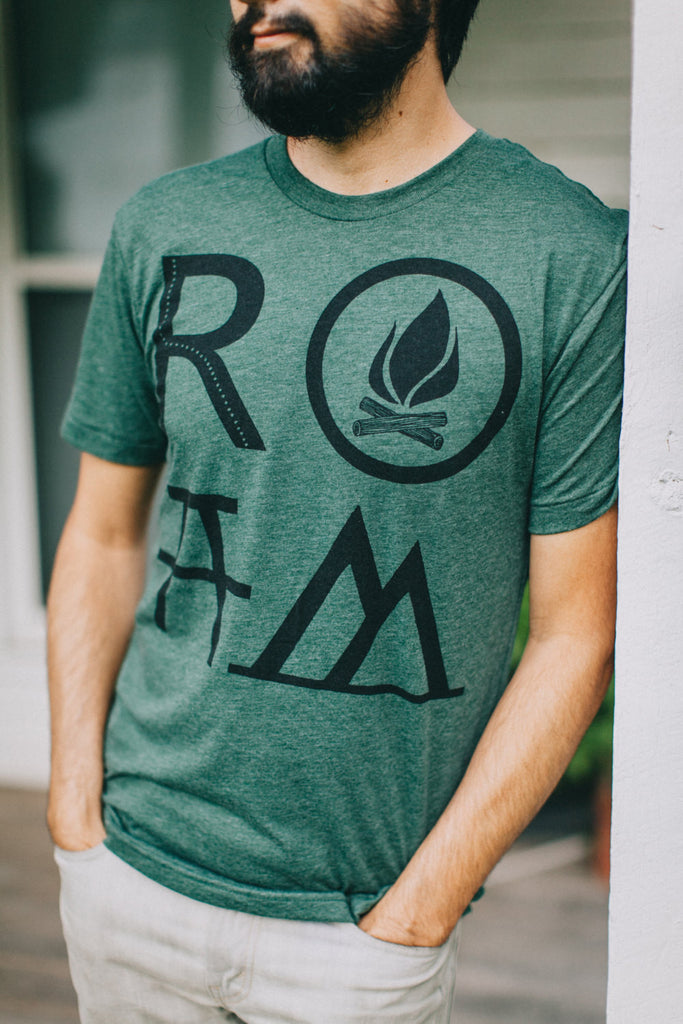 Men's ROAM Graphic Tee Green