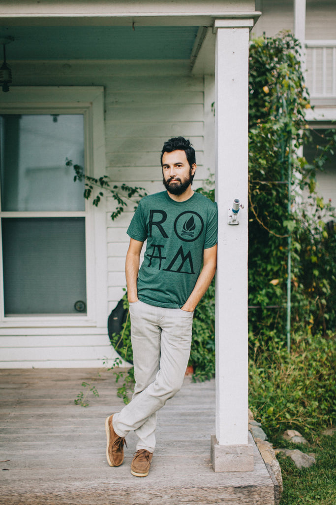 Men's ROAM Tshirt - Green