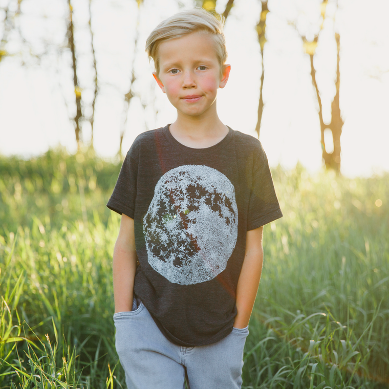 Kid's Full Moon Shirt