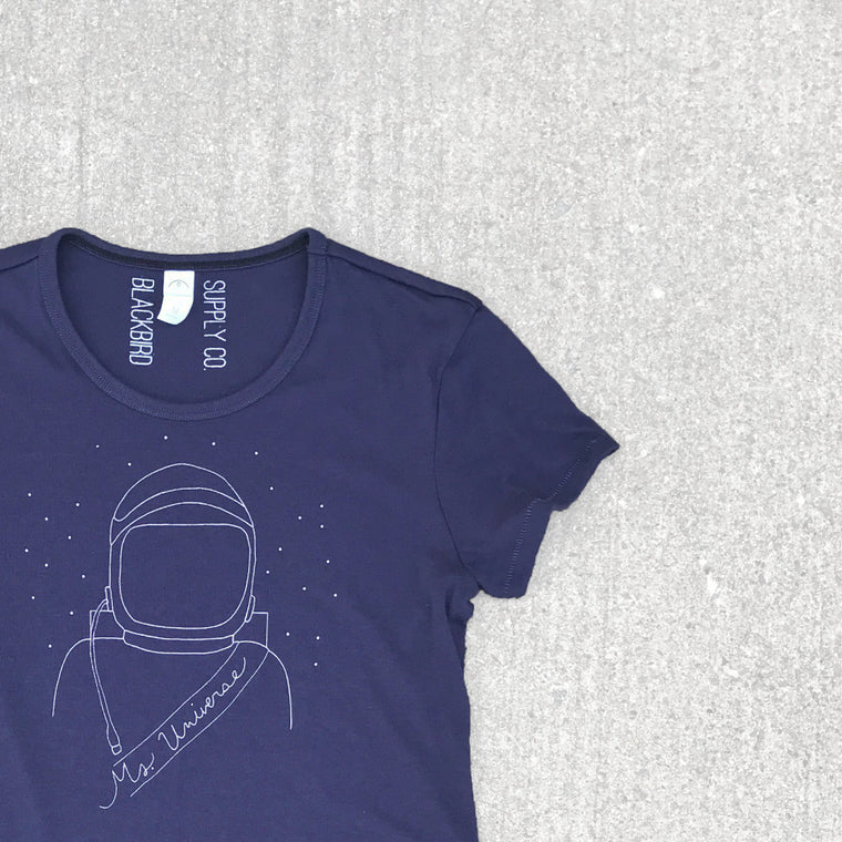 The lady astronaut women's tee.