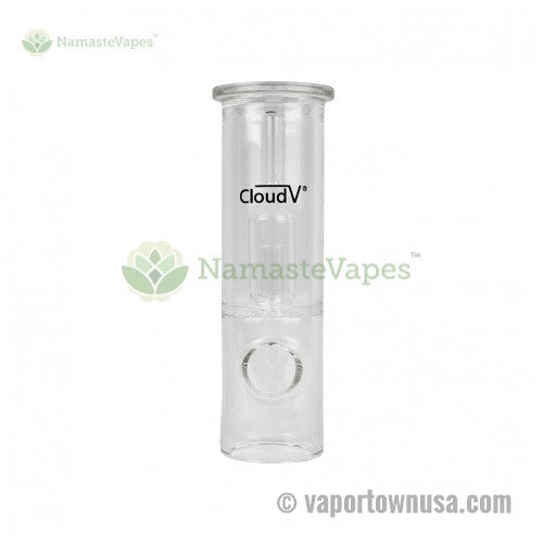 Cloud V Electro Vaporizer Replacement Straight Glass Tube | Cloud V Accessories