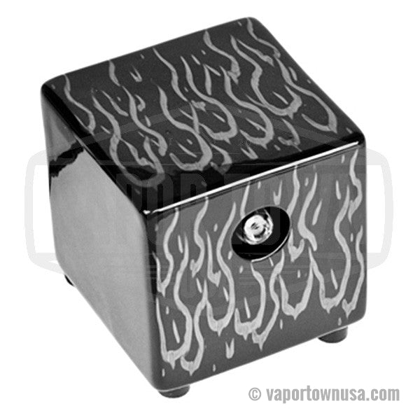 Hot Box Flame Vaporizer in Black