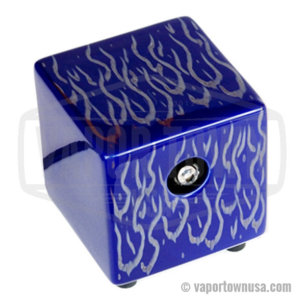 Hot Box Flame Vaporizer in Blue