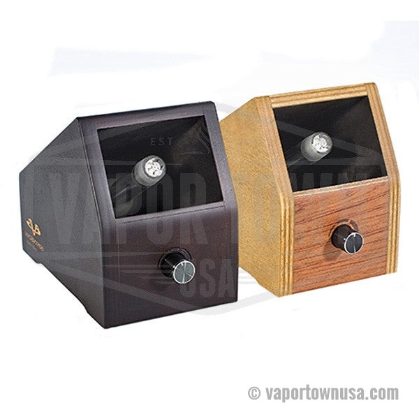Vapor Brothers Hands Free Vaporizer in Natural and Coffee finishes
